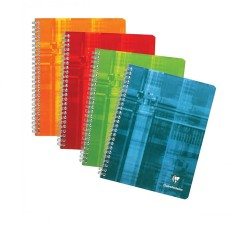 Clairefontaine Classic Wirebound Notebook A4 - Seyes Paper