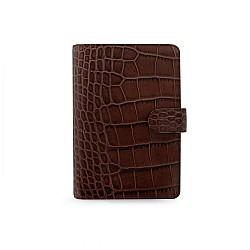 Filofax Classic Croc Chestnut Personal Organizer