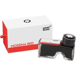 Montblanc Ink Bottle Modena Red