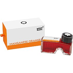 Montblanc Ink Bottle Manganese Orange