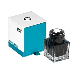 Montblanc Ink Bottle Blue Palette - Maya Blue